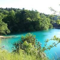 Blauer See im Sommer
