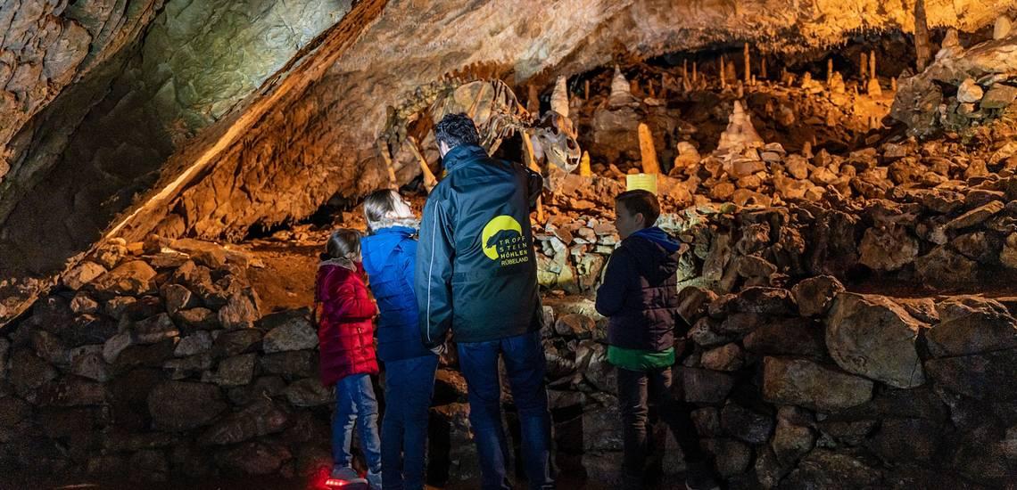 Führung in der Baumannshöhle ©J.Reichel/Tropfsteinhöhlen Rübeland